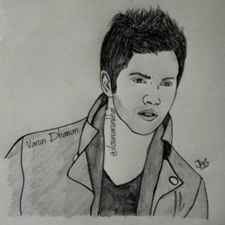 VARUN DHAWAN FCud83dudc97 On Twitter U0026quot;varun Bhai Im Go To Drawing Shop And Drawing U R Sketch Plzz Plzz ...