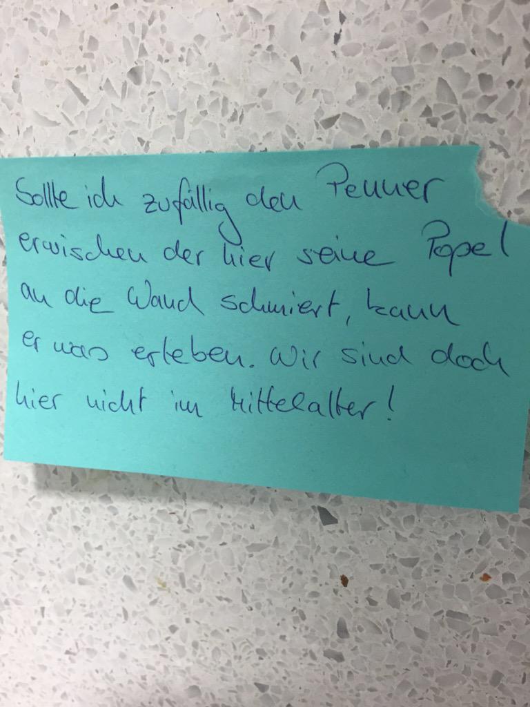 toilettensprueche hashtag on twitter