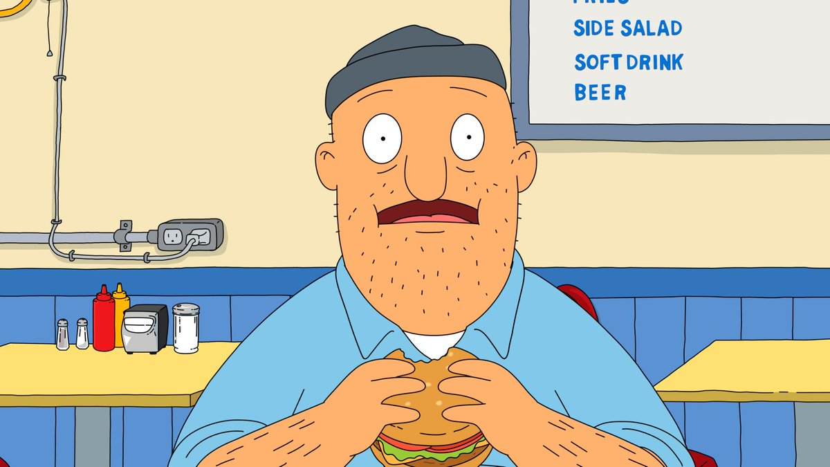 Image result for bob's burgers uncle teddy
