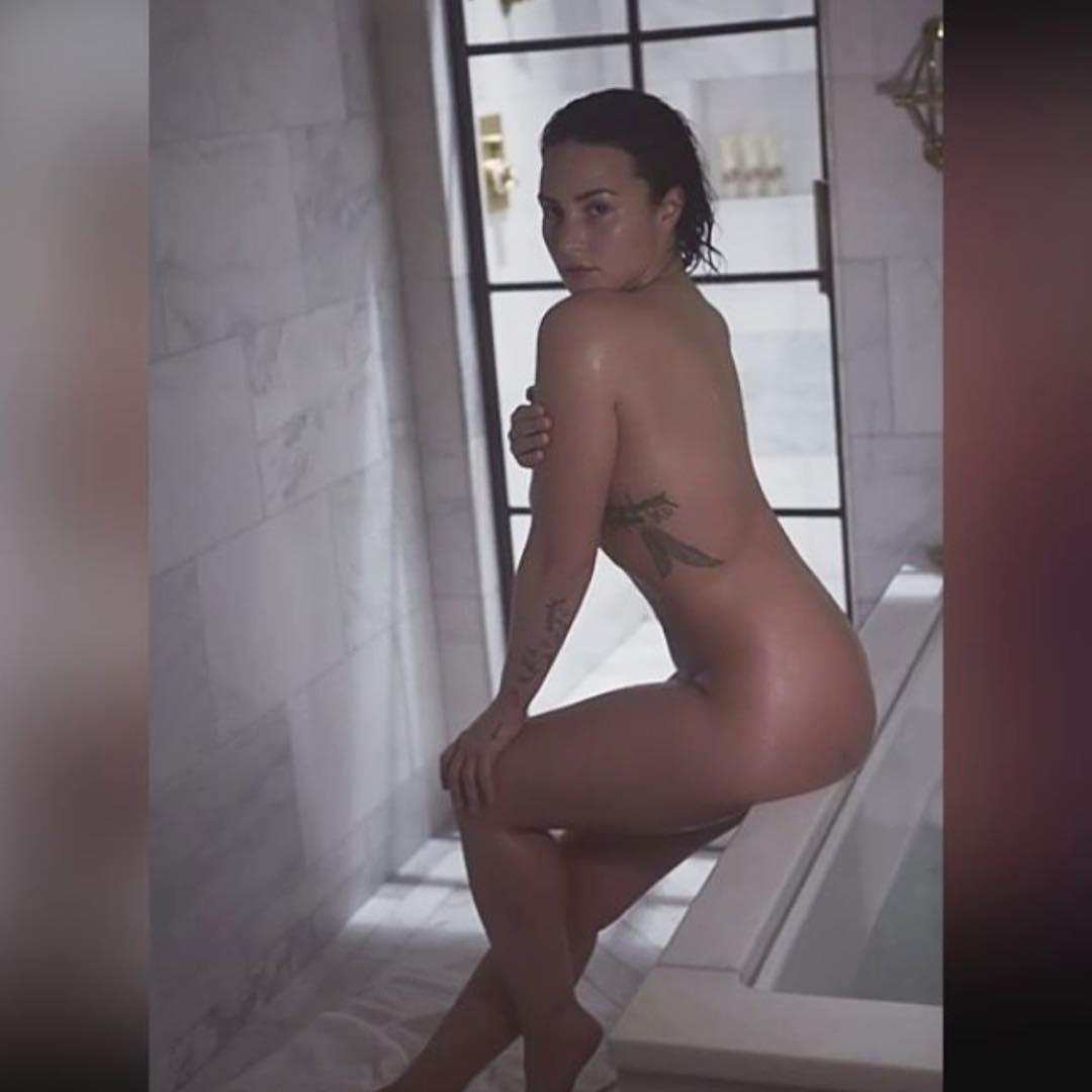 Hackers Leak Alleged Nude Pictures Of Demi Lovato