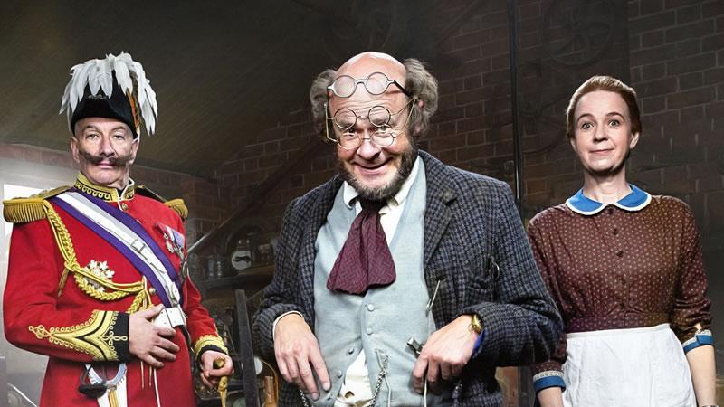 RT @UKComedyNews: Filming is underway on the next Professor Branestawm. The regulars all return + guest stars: http://t.co/KFywCoOYH5 http:…