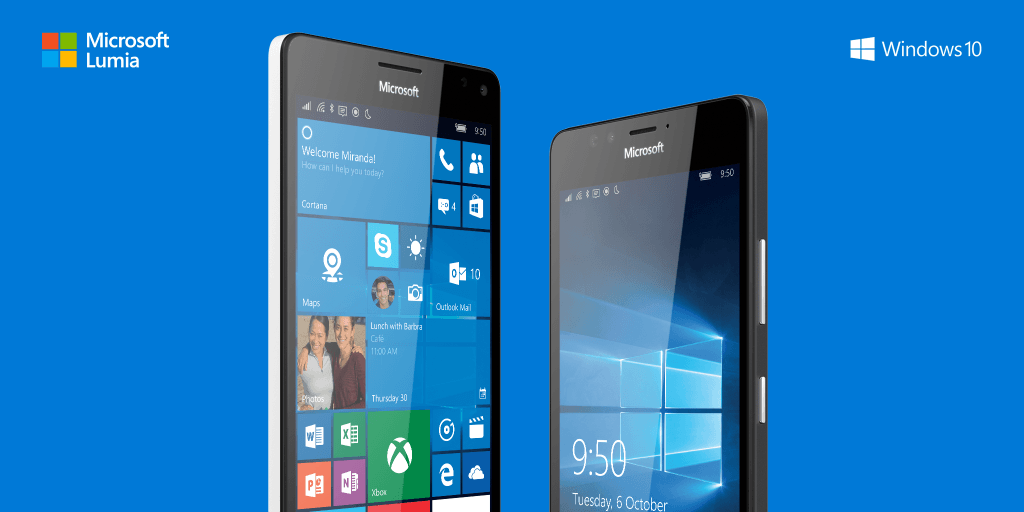 Introducing the Microsoft Lumia 950 and 950 XL http://t.co/IHPIgWpYNx http://t.co/ytkQzGVtxv