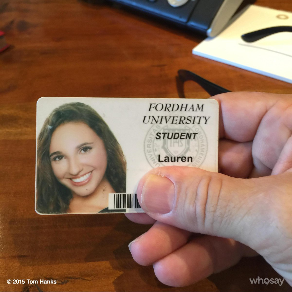 Lauren!  I found your Student ID in the park. If you still need it my office will get to you. Hanx. http://t.co/Ee9kK4V4qf