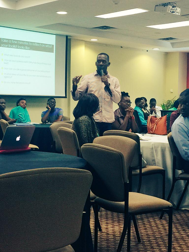 GSA discussion underway with students sharing experiences, challenges & opportunities for social impact. #ICBME15 http://t.co/nvJeKQEPHg