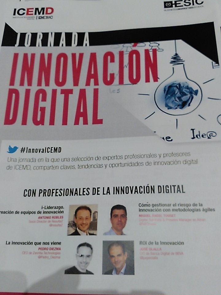 Thumbnail for Aprendiendo sobre #Innovación y #transformación digital #InnovaICEM