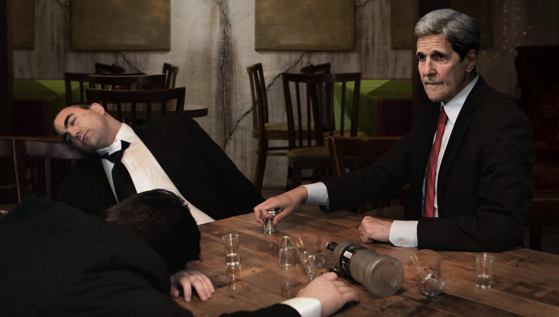 RT @TheOnion: Kerry Downs Another Vodka Shot As The Last Of Putin's Security Detail Passes Out http://t.co/aEEbhHjnVL http://t.co/cuHYJcj4FZ