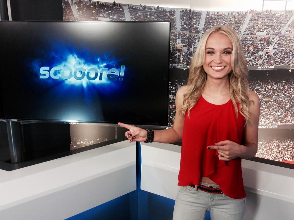 Sport1 Moderatorin Nele Schenker