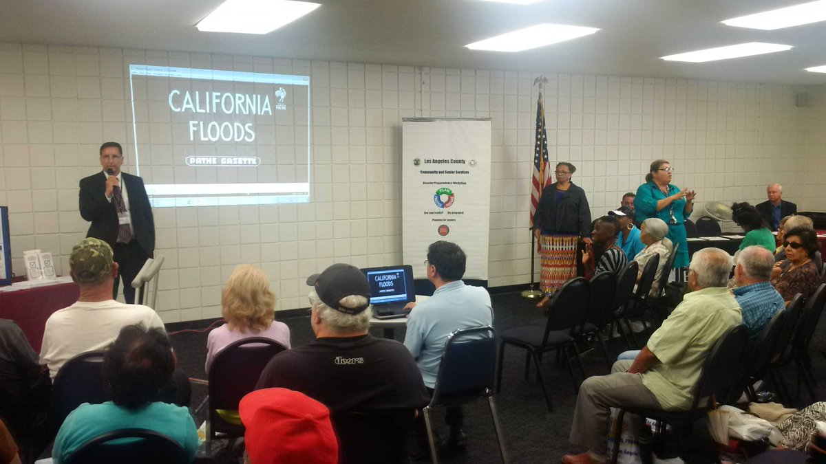 RT @LACOOEM 2015 #NatlPrep @prepareAthon @CountyofLA Disaster El Nino Prep Workshop San Pedro Service Ctr @LACountyCSS @DonKnabe