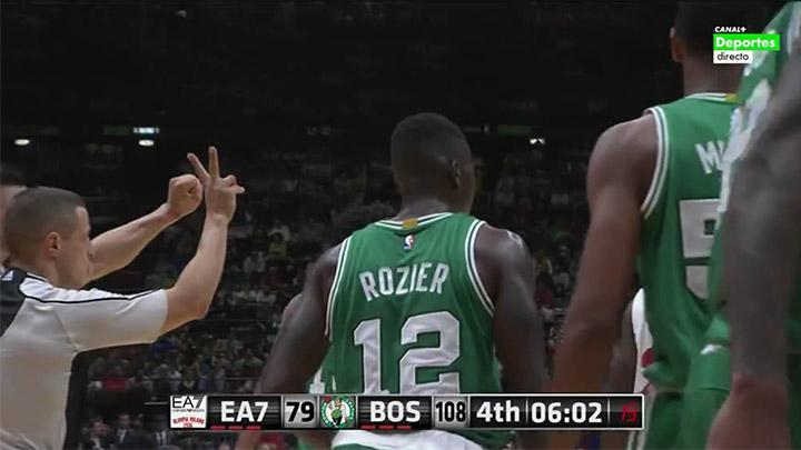 Basket: Boston Celtics vs EA7 Milano 124-91