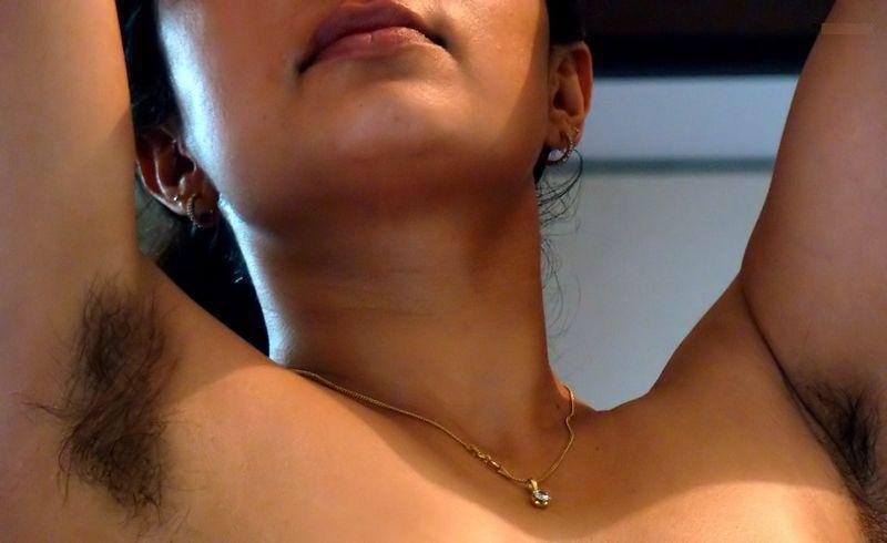 Nude hairy pussy armpits