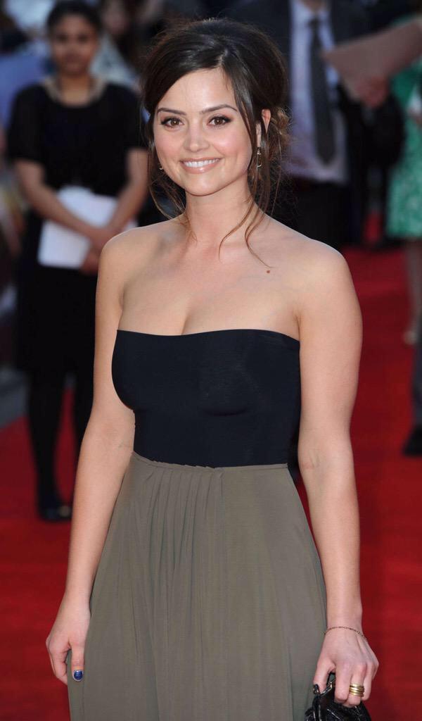 "Uk Celebs In Heels on Twitter: ""No.2 #SexiestUKTvActress #Jenna Coleman (Dr  Who) http://t.co/c6HUrHlLhG"""