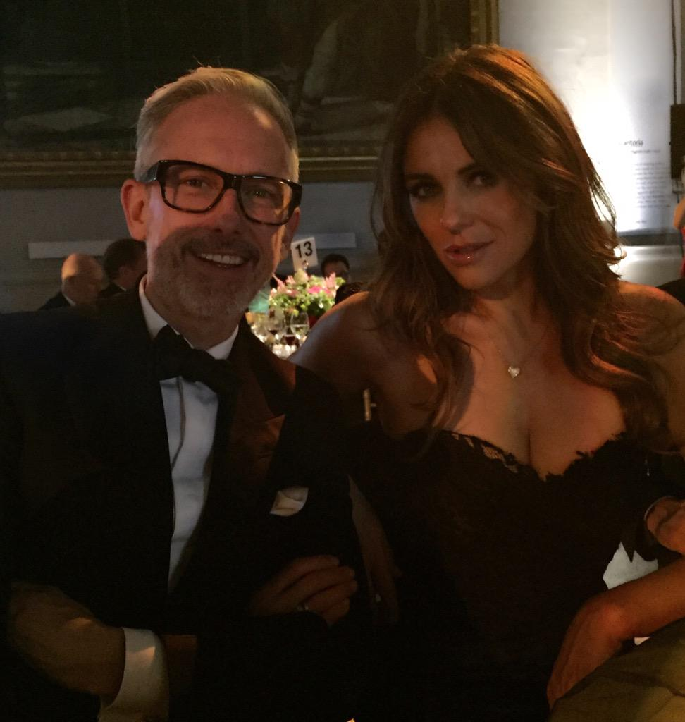 Raising funds for the Countryside Alliance at the V&A. With Patrick Cox @LATHBRIDGE_LDN 💋 http://t.co/684RNA3lBW