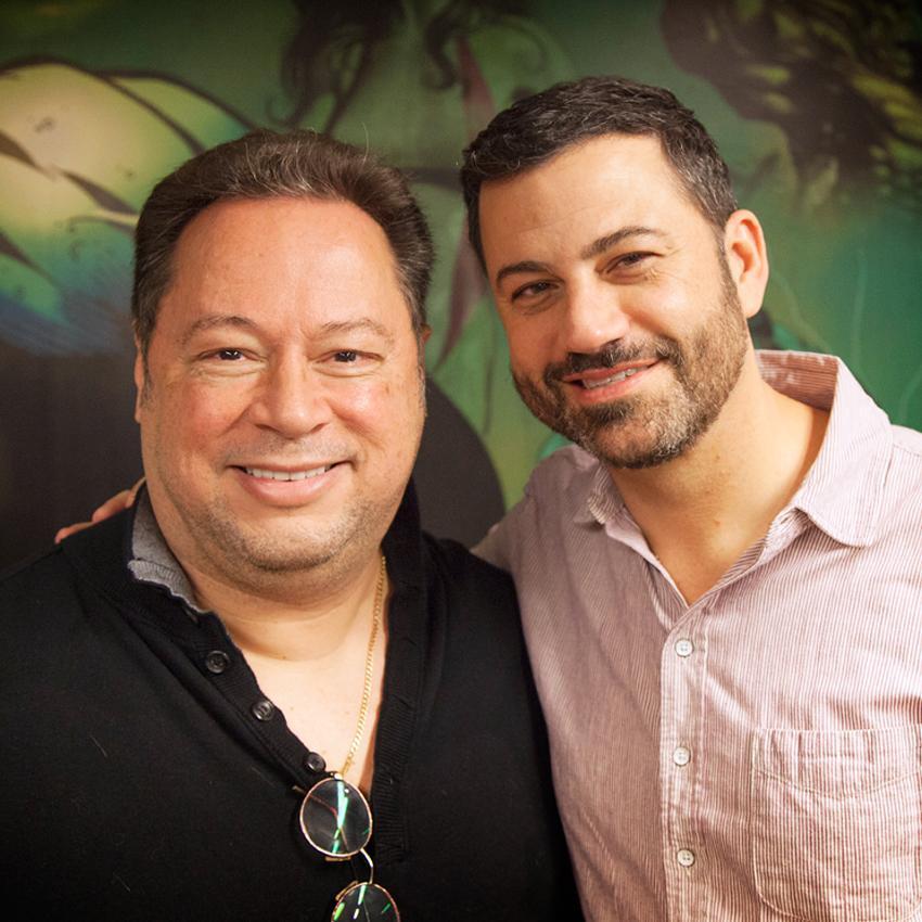 RT @Marvel: Guest host @JoeQuesada welcomes @jimmykimmel to the #ThisWeekInMarvel podcast: http://t.co/0qx1ru4hjT http://t.co/VVOJPEmoi3
