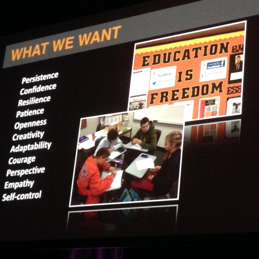 Let's stop worrying what the list looks like and JUST DO IT! #education #edchat #ulearn15 #change @grantlichtman http://t.co/8EKVg1EogQ