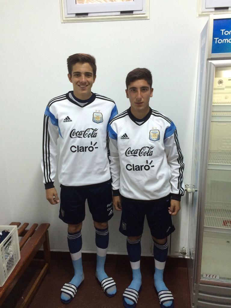 BRAVO VIVAS BANFIELD SELECCION SUB 20 ARGENTINA