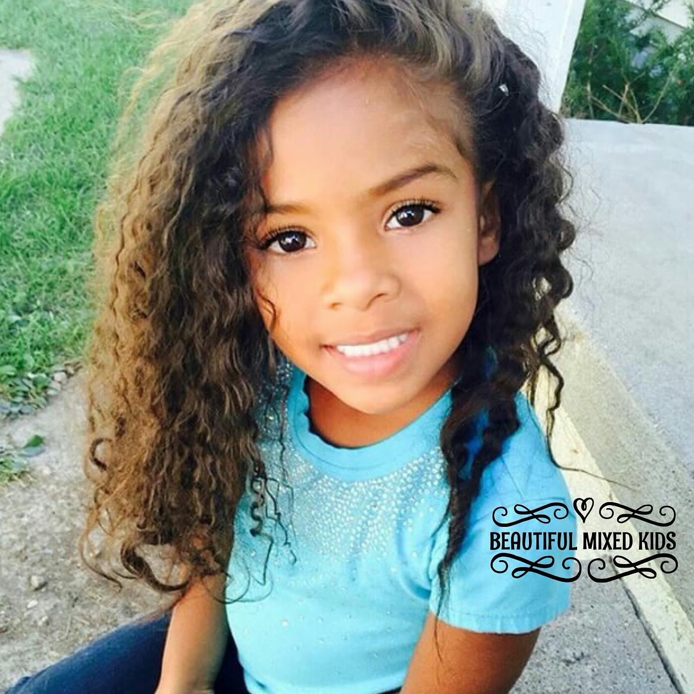"BEAUTIFUL MIXED KIDS on Twitter: ""Keira 