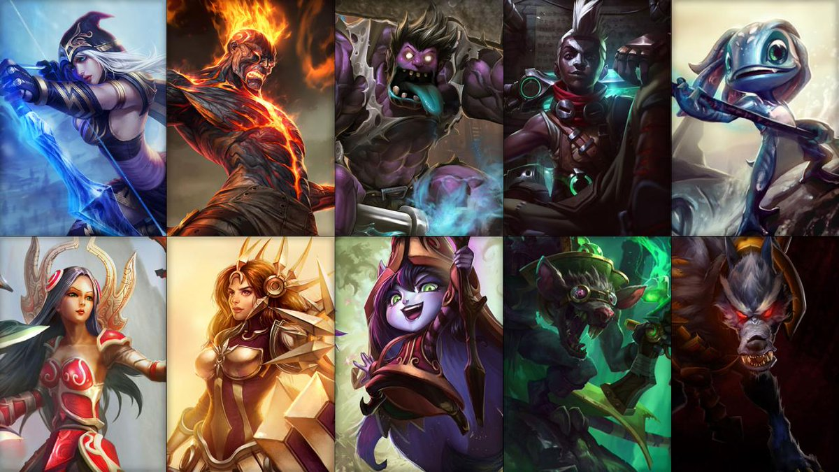 Mobafire On Twitter This Weeks Free Champion Rotation Is Ashe