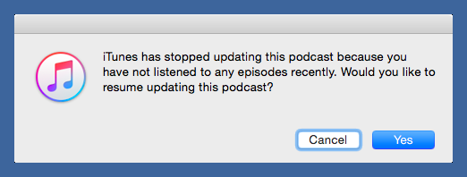 Dear iTunes, Maybe you should concentrate on just doing what I fucking tell you instead of guessing what I want. http://t.co/nKeKgxoCEo