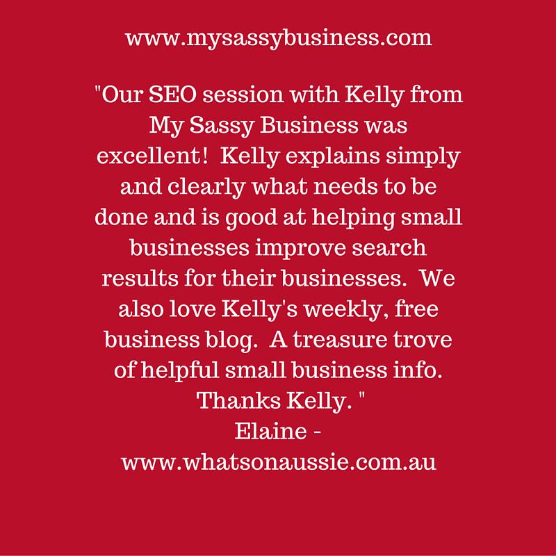 Love this testimonial from Elaine at http://www.whatsonaussie.com.au  #whatsonaussie #whatsonnorthernbeaches #clientfeedbackpic.twitter.com/umNBZvvtmK