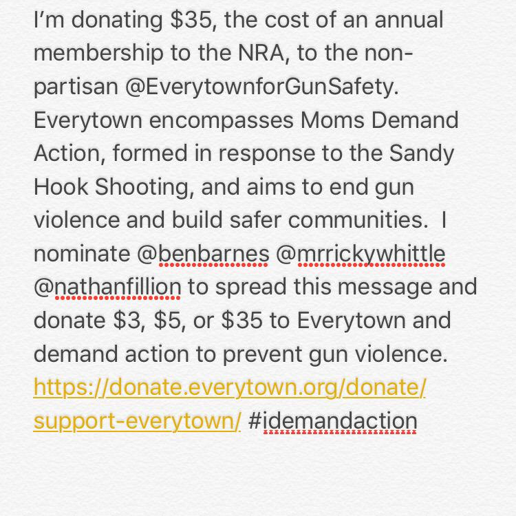 #donated brother 🙌🏽 be the change you want to see in the world RT @RobertKazinsky: #idemandaction http://t.co/osyujCaj2L