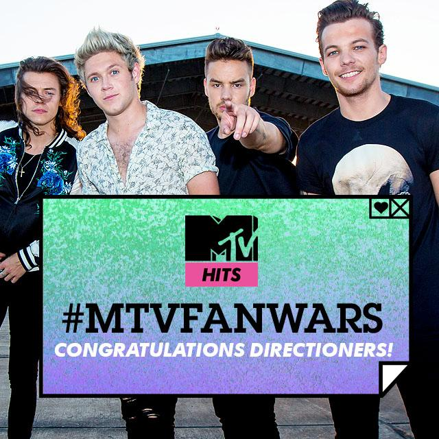 AND THE #MTVFANWARS WINNERS ARE...  #MTVFANWARSDirectioners! http://t.co/UunQugX58z