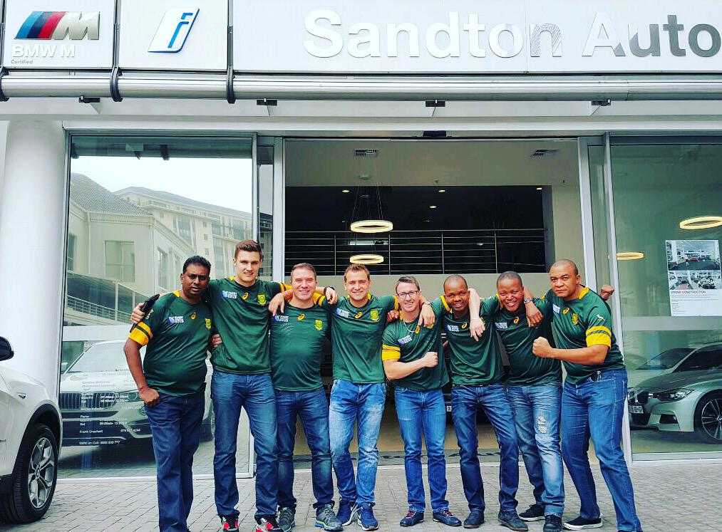 Sandton Auto Bmw On Twitter Wishing The Springboks All The Best