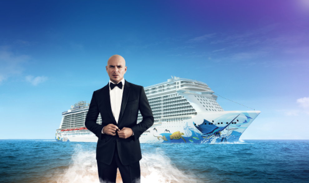 BREAKING NEWS: Pitbull just announced as #NorwegianEscape's Godfather & inaugural performer! http://t.co/aIPHhq50In