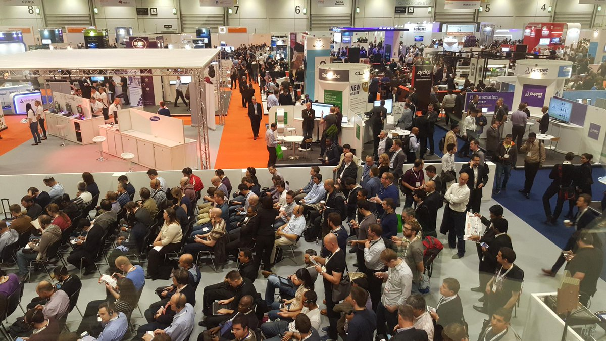 Very busy day 1 at #IPEXPO Europe! http://t.co/OJHw1gL8zU