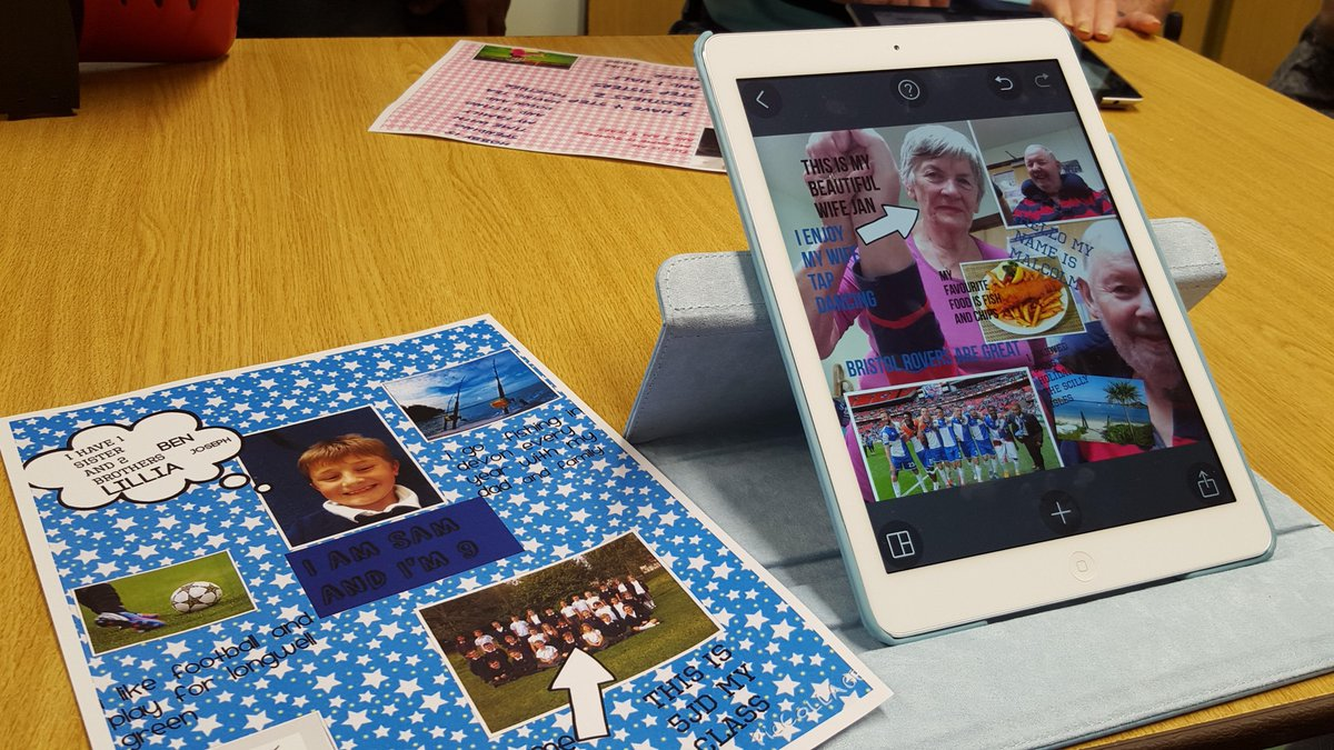 Our #intergeneration project iPals has begun! #Olderpeople & children connecting via the iPad http://t.co/VkrwQ23RPg http://t.co/QM4ypRCjM0