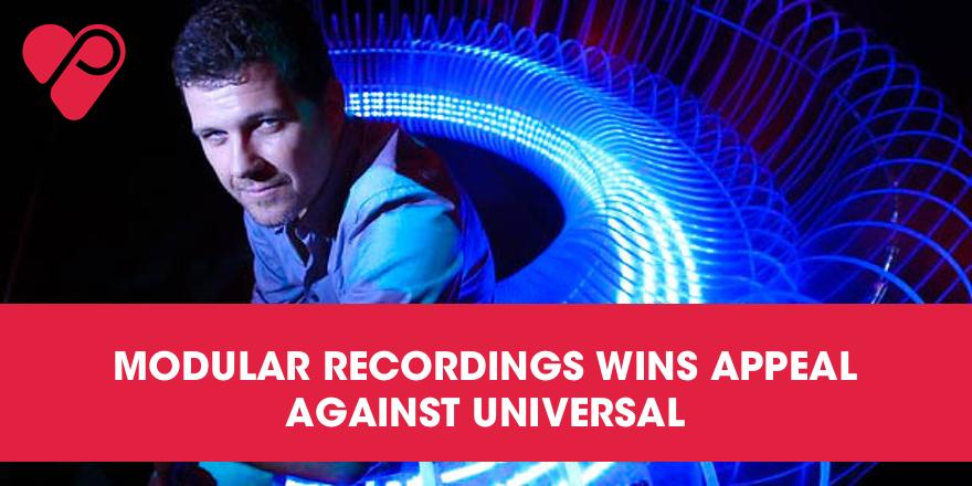 #ModularRecordings wins appeal against Universal! Read more here: http://t.co/h6DF2ATQn4 #music #news http://t.co/uA9dwweFUx
