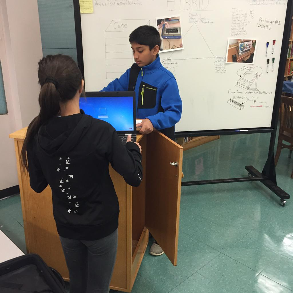 Enviroleaders ready to show process of design for earth battery @JALPrincipal @TRCA_FC #jal21c http://t.co/PmUyxTfRsD