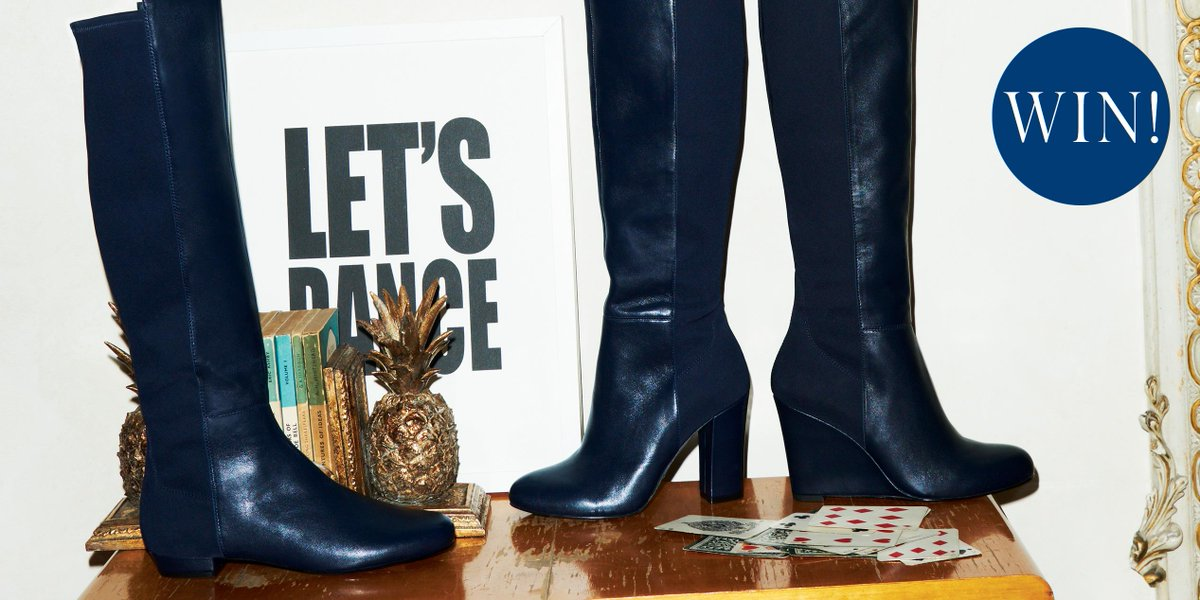 The boots have it. Want to walk off with a pair of your own? RT for a chance to #WIN. #MidweekTreat http://t.co/iO7YZXh4GK