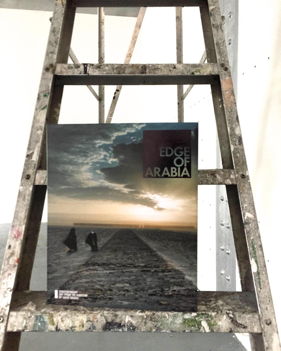 Edge of Arabia is the first book to explore the emerging art culture of Saudi Arabia. Get a copy from amazon. http://t.co/eoibsHYNo0