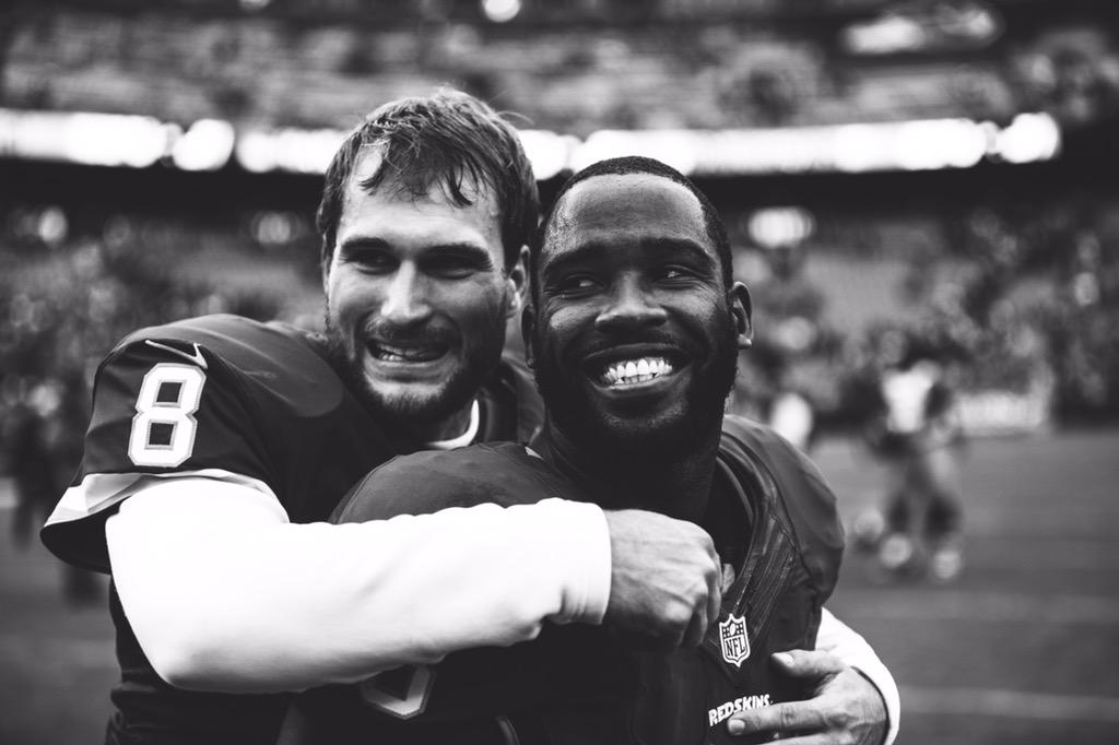 @KirkCousins8 and @PierreGarcon after the win on Sunday http://t.co/CGv0qnpmVp