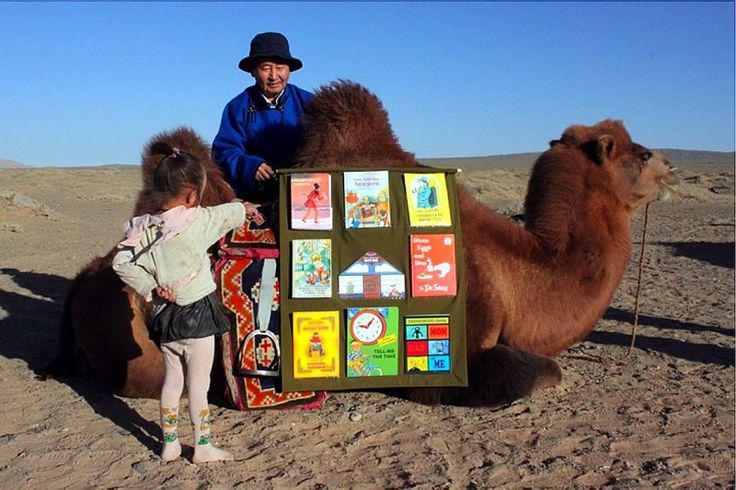 「camel library モンゴル」の画像検索結果