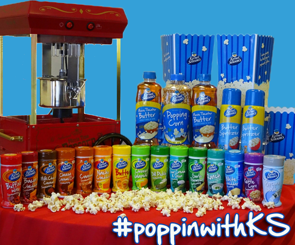 It's still National POPCORN Month! Show us your favorite popcorn pic using #poppinwithKS 2 win an Ultimate Party Pack http://t.co/OxyfPyrNvi