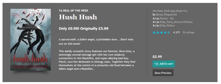 Hush Hush Becca Fitzpatrick Ebook