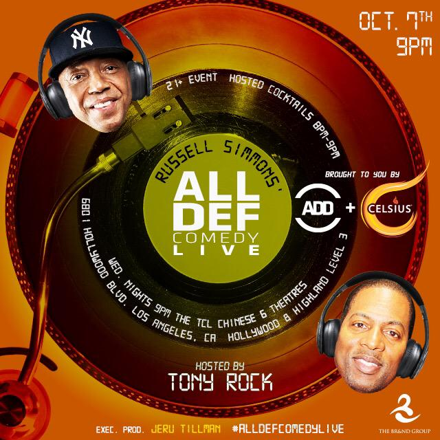 LA! We're back again tonight for another #AllDefComedyLive brought to you by @AllDefDigital + @CelsiusOfficial http://t.co/jIxcqIQCK6