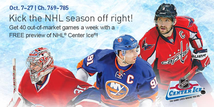 Directv On Twitter Nhl Hockey Is Back Watch Our Nhl Center Ice