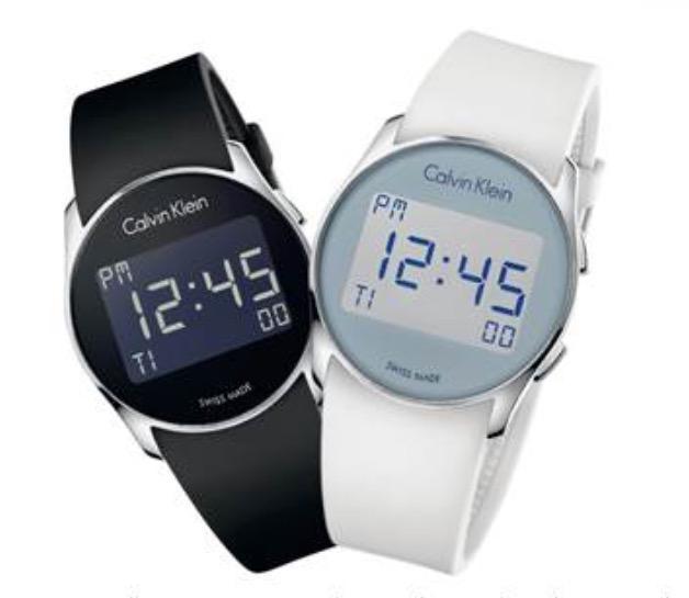 906ecca58eeb calvinklein future el primer reloj digital de la firma con un look  futurista y retro para