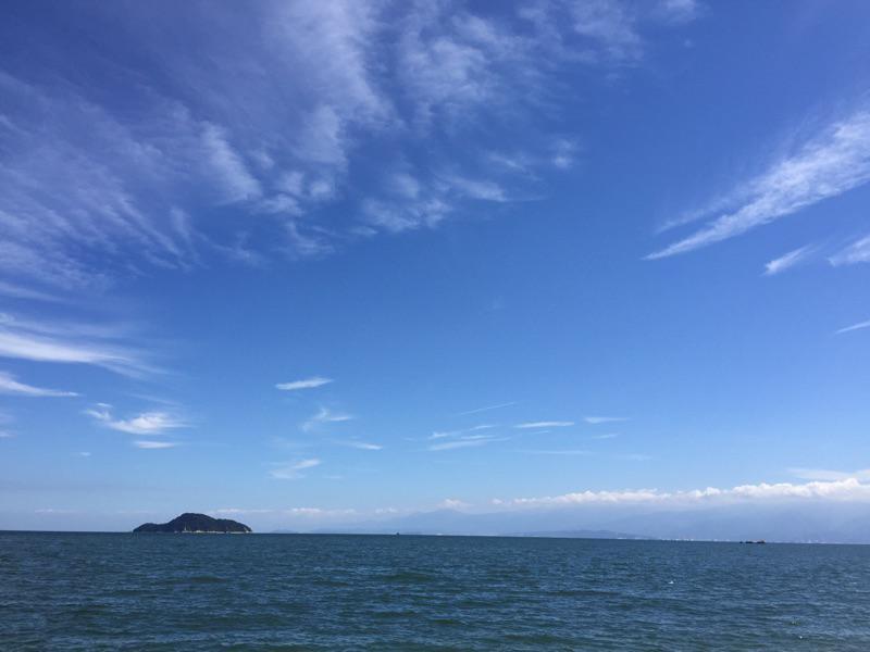 待ち受けにした、今治の海が超絶綺麗 http://t.co/gXJ81HeGPl