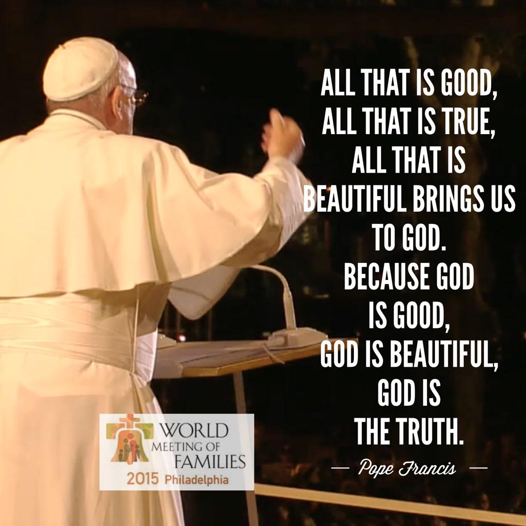 Quotes from Pope Francis #WisdomWednesday #PopeInPhilly - share your favorites today! http://t.co/sfWFq9DkN0