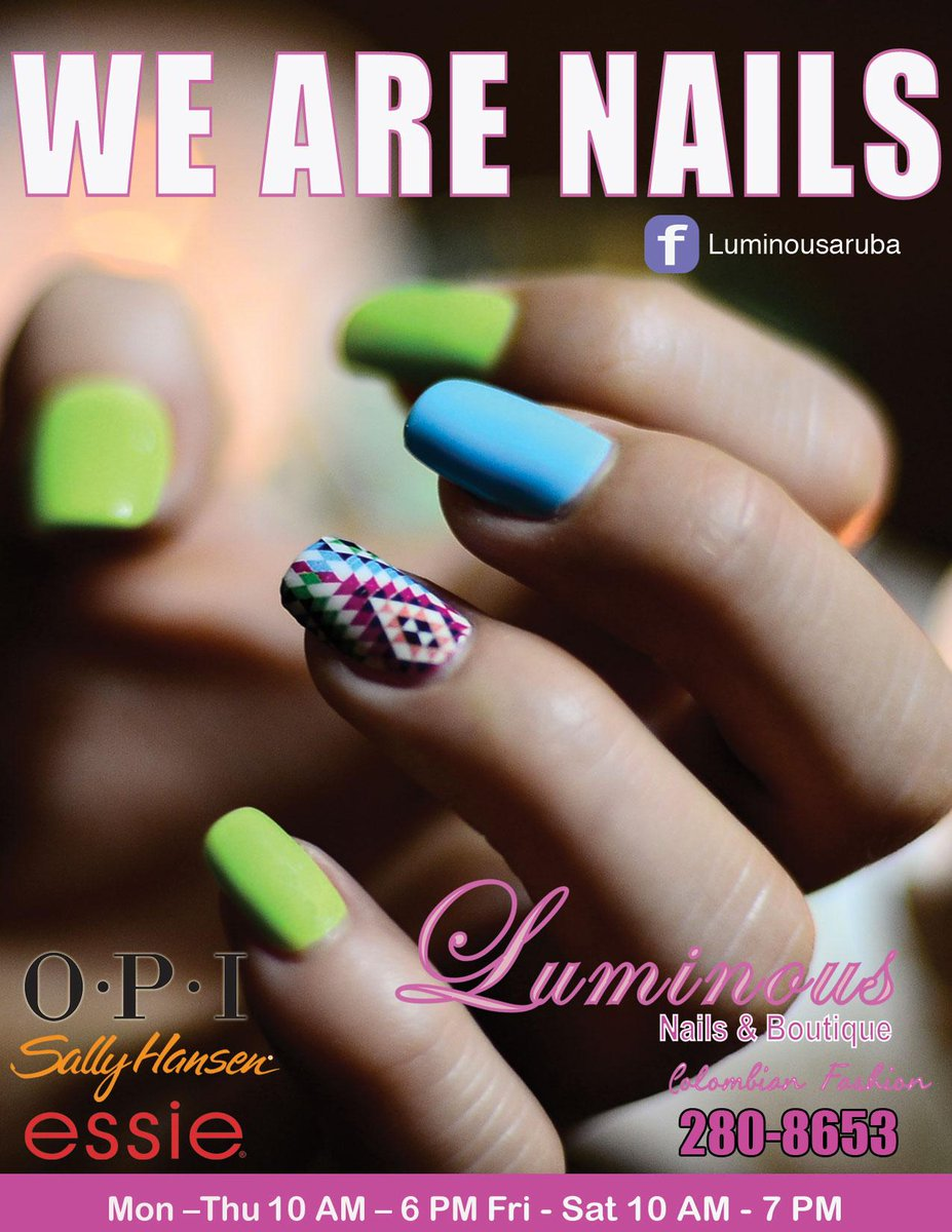 Luminous Nails on Twitter: \