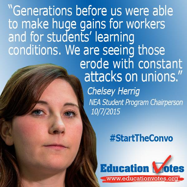 White House Workers Summit listens to workers, businesses, unions & educators such as Chelsey Herrig #StartTheConvo http://t.co/Bmtc0IFoGT