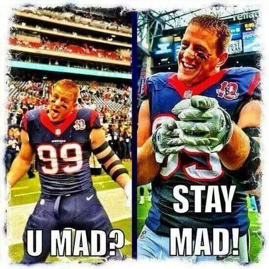 Stay Mad at JJ