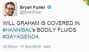 Image result for bryan fuller hannigram tweets