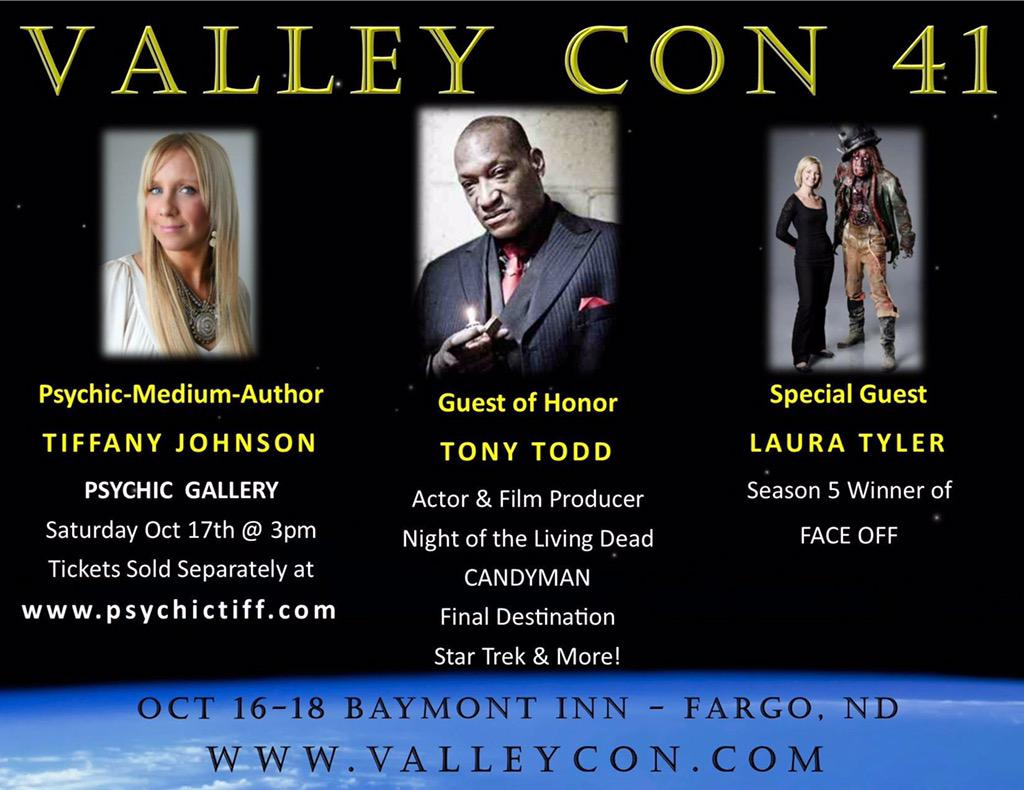 So excited to get back up to #Fargo for @FMValleycon   Come out to my gallery!!  @TonyTodd54 will be there too!! http://t.co/yHFPxzifAS