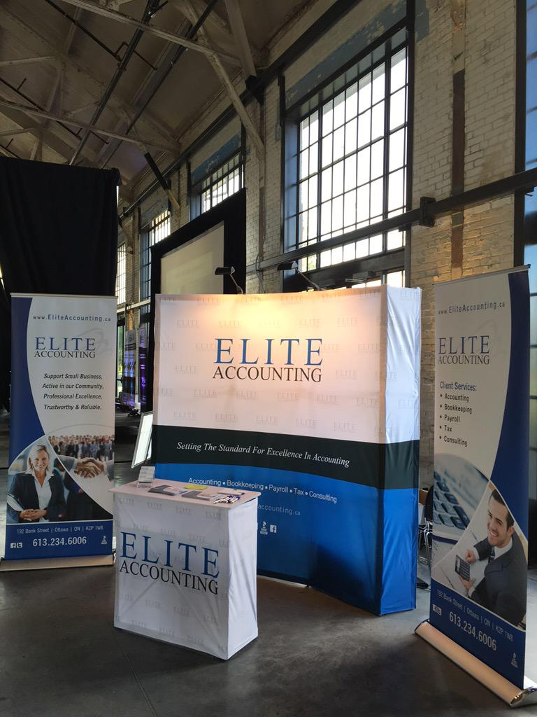 Our booth for #eSAX @Lansdowne_Park #Ottawa is ready for tonight 6-9pm. Come by and say Hello! http://t.co/7LBIh7Qzbh