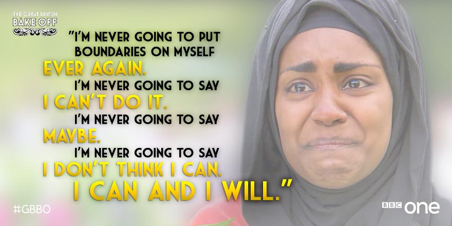 Aye it's just baking. But my, what wonderful wisdom from @BegumNadiya : go, sister. http://t.co/VhXhk1lCbu