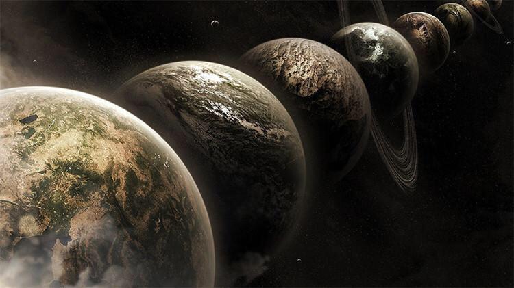 Allineamento planetario Venere Marte Giove Mercurio e la Luna, la sfilata dei pianeti